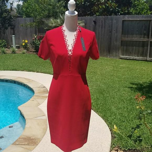 49304cf38d00 Elie Tahari Dresses & Skirts - Elie Tahari Saylah dress poppy red 8
